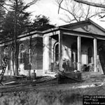 Construction of what was once the Indian Head Post Office, circa 1920